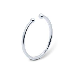 טבעת מכסף 925 דקה מהממת. מידה חופשית! נפתחת לכל מידה!