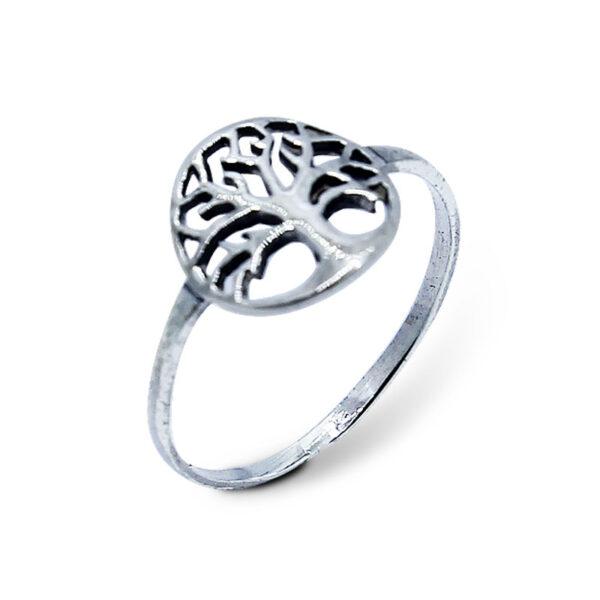 """טבעת """"עץ החיים"""" מכסף 925 מהממת. מחיר מבצע מיוחד"""