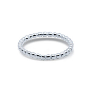 טבעת כדוריות מכסף 925. מחיר מבצע מיוחד