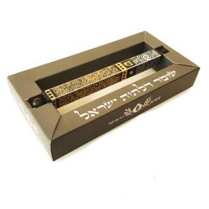 קופסא מהודרת למזוזות דורית קליין. מזוזות צינור מאלומיניום בשלל עיצובים וצבעים. מחיר מבצע מתנות ישראל