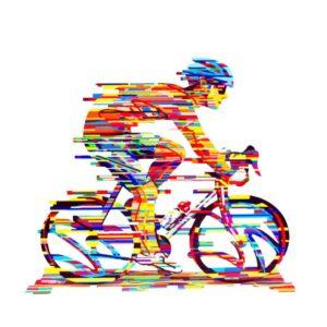 רוכב אופניים CHAMPION גדול ( גובה 36cm (14.17