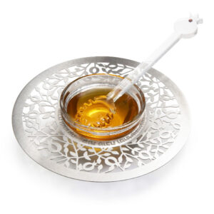 דבשיות נירוסטה בעיצובים שונים - כלי לדבש ( 15 ס