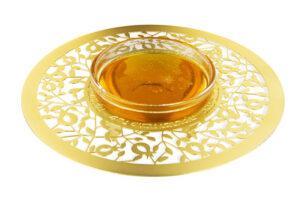 דבשיות זהב בעיצובים שונים - כלי לדבש ( 15 ס