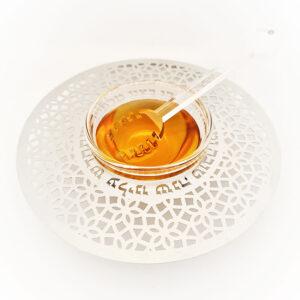 דבשיות מהודרות בעיצובים שונים - כלי לדבש ( 15 ס